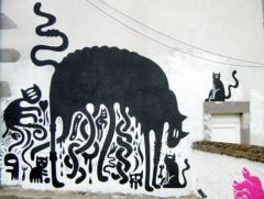 chats sur mur.jpg